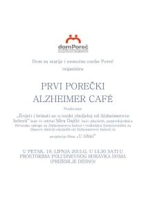 Prvi Porečki Alzheimer caffe